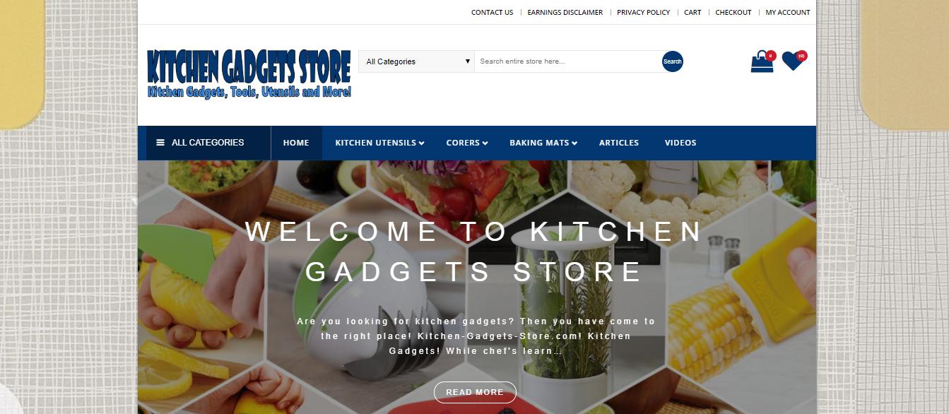 Kitchen-Gadgets-Store.com – Virtual Endeavors